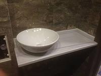 Столешница для ванной комнаты из мрамора , фото 1