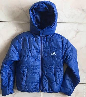 Куртка 6-10 весна-осень Adidas однотон 1729