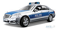 Автомодель Maisto Mercedes Benz E-Class German Police (36192) УЦЕНКА! Серебристо-синий