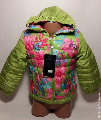 Куртка ' Н.М' Цветы 3995 весна-осень