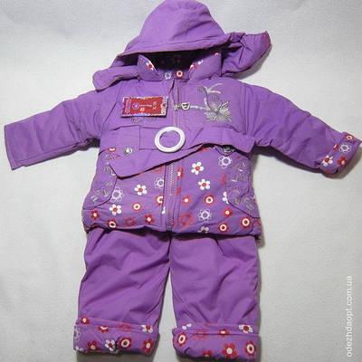 Куртка+комбез на меху М\Х --вышивка Ромашки 4071