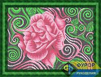 Схема для полной вышивки бисером - Абстракция удивительная роза, Арт. НБп3-111