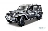 Автомодель Maisto (1:18) Jeep Rescue Concept Police (36211) УЦЕНКА! Черный