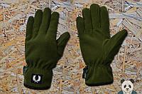Зимние мужские перчатки Fred Perry / Фред Перри