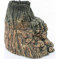 Декоративная скала-вулкан Resin Volcano 5154, 19x14,5x15,5 см