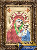 Схема иконы для вышивки бисером - Казанская Пресвятая Богородица, Арт. ИБ4-7-3
