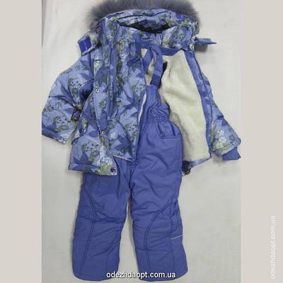 Куртка+комбез 'Цветы и Листья'Зима 16-688-13С