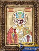 Схема иконы для вышивки бисером - Николай Чудотворец (Угодник), Арт. ИБ4-29-3