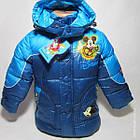 Куртка длинная  ZNZX 'Микки'3732 Осень-Зима