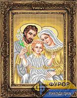 Схема иконы для вышивки бисером - Святое семейство, Арт. ИБ3-31-2