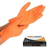 Перчатка нитриловая неопудренная ( XL ) 50 шт в упаковке
