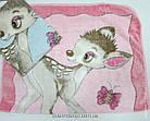 Плед для новорожденных 'Бемби' Теплый 0608