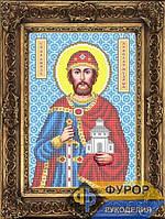 Схема иконы для вышивки бисером - Ярослав Святой Благоверный Князь, Арт. ИБ4-141-1