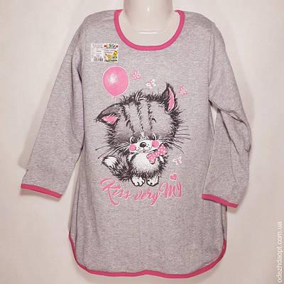 4206 Ночная сорочка с начёсом 116 р