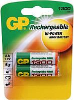 Аккумулятор GP Batteries AA 1300mAh NiMh 2шт (130AAHC)