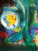 Кукла русалка Ариэль, свет, фото 3