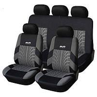 Чехлы на автомобильные кресла (полный набор). Высокое качество. Универсальные чехлы. Купить. Код: КДН2360