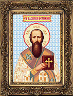 Набор иконы для вышивки бисером - Святой Василий Великий, Арт. ИБ4-70