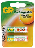 Аккумулятор GP Batteries AA 1800mAh NiMh 2шт (180AAHC)