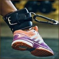 Манжета кожаная для тяги на тренажере F8 OS-0312