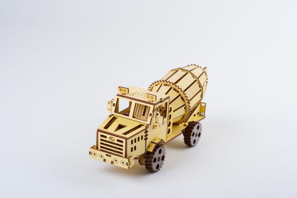 Дерев'яний 3D-конструктор ekoGOODS Бетономішалка