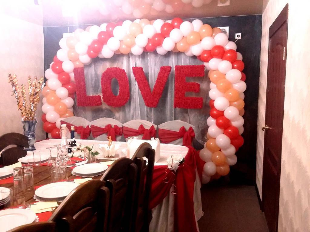 арка из воздушных шаров ,свадьба