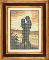 Набор для полной вышивки бисером - Влюблённая пара на закате, Арт. ЛБп3-2