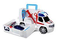 Скорая помощь большая машина с инструментами Dickie Toys.