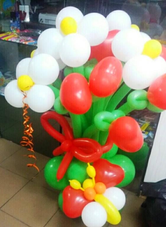 """букет из воздушных шаров """"сердце3"""