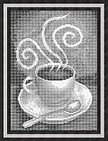 Набор для полной вышивки бисером - Ароматное кофе, Арт. НБп4-32-2