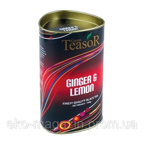 """Чай TiaSor """"Імбір, лимон"""" 100гр"""