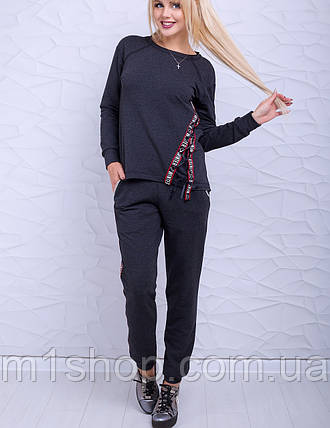 Женский спортивный костюм кофта и брюки (Брайт lzn), фото 2