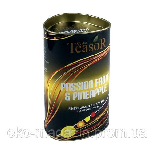 """Чай TeaSor """"Маракуя с ананасом"""" 100гр"""
