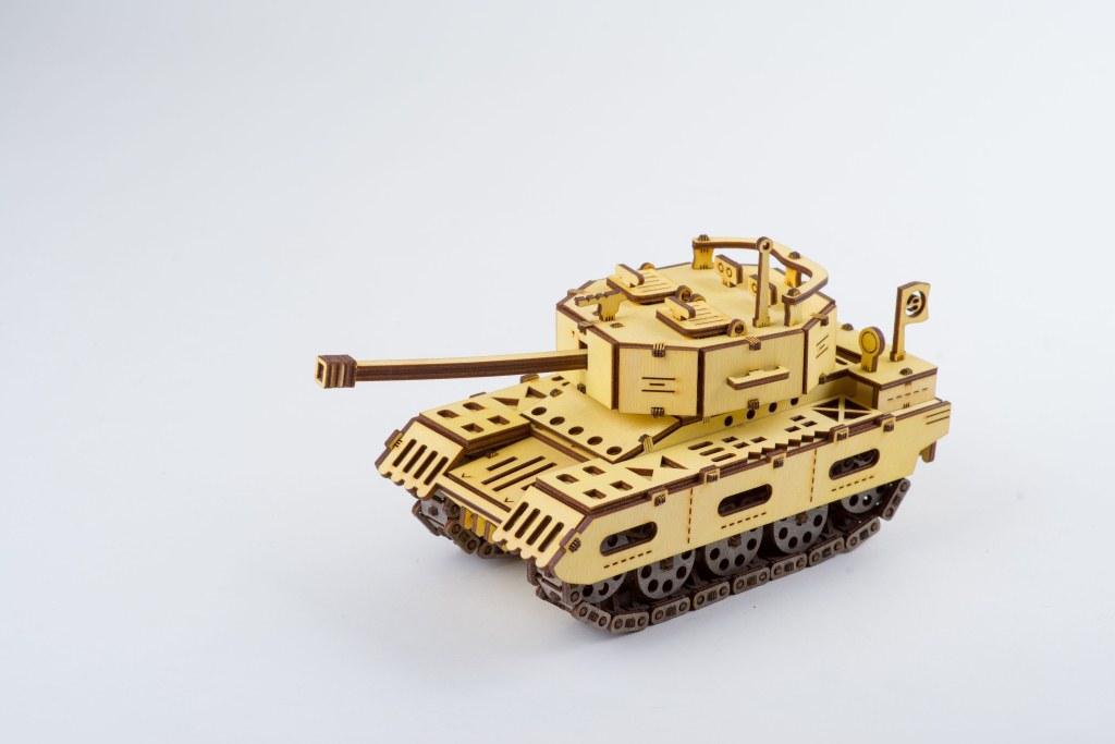 Конструктор 3D-пазл ekoGOODS Танк «Оплот»