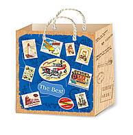 Подарочные пакеты стильные размер 16 х 16 см (12 шт./уп.)