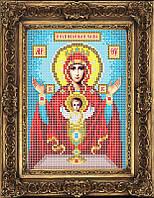 Набор иконы для вышивки бисером - Образ Пресвятой Богородицы Неупиваемая Чаша, Арт. ИБ5-123-1