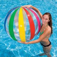 Мяч 59065 (24шт) 107см, в кульке, 25-26см