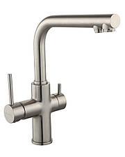DAICY змішувач для кухні одноважільний з підключенням питної води, сатин