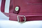 Деловой портфель женский VS107 burgundy 39х28х9 см, фото 6