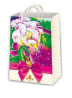 Подарочные пакеты цветы размер 26 х 16 см (12 шт./уп.)