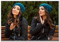 Шапка женская вязанная  мод. Регина