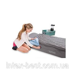Односпальный надувной матрас Intex 66998 (193х91х25 см.), фото 2