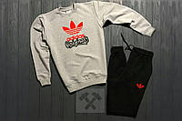 Мужской спортивный костюм Adidas Original, адидас