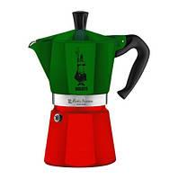 Кофеварка гейзерная Bialetti Moka express Italia на 3 чашки 0005322