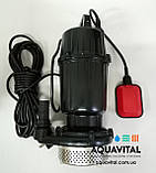 Дренажный насос VOLKS pumpe QDX7–21 1.3кВт, фото 3