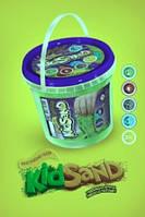 """Творчество """"Кінетичний пісок""""KidSand"""" 1200г (12), KS-01-04"""