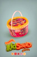 """Творчество """"Кінетичний пісок""""KidSand""""400г (36), KS-01-06"""