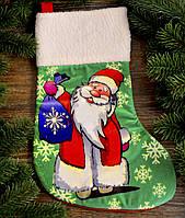 Новогодний носок для подарков 1774
