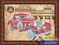 Набор для вышивки бисером - Ретро авто Mercedes, Арт. ПБч3-62