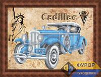 Набор для вышивки бисером - Ретро авто Cadillac, Арт. ПБч3-63